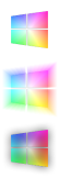 Windows 10 Rainbow Start Button by SchnuffelKuschel