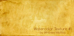 Watercolor Texture #1: Raw Sienna