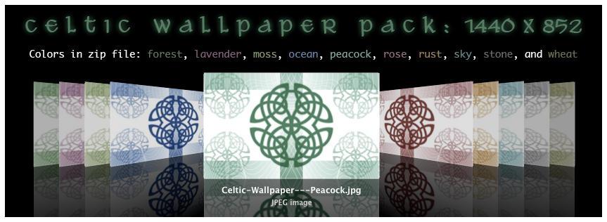 celtic wallpaper. Celtic Wallpaper Pack by