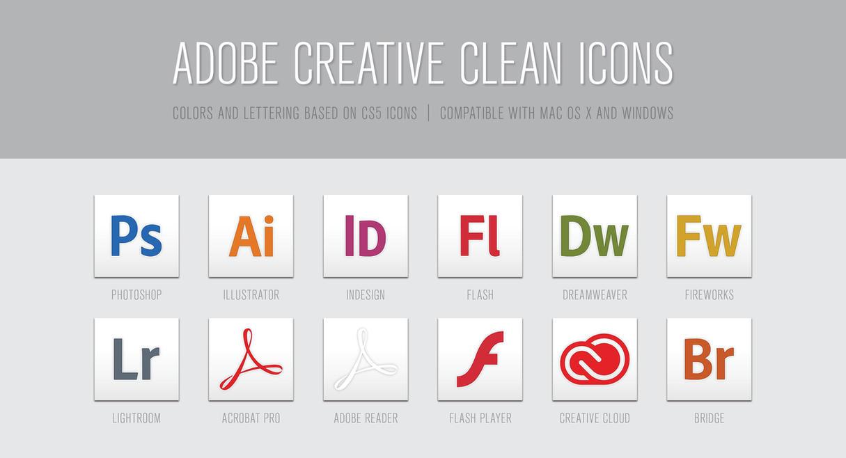 adobe creative clean icons by sarachristensen on deviantart