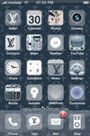 Flux LV iPhone Theme