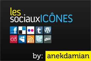 Les Sociaux Icones by anekdamian