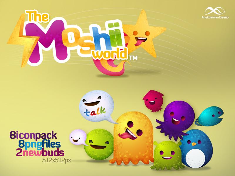New Moshii World - Icon Pack