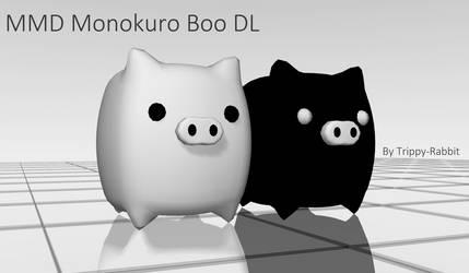 MMD MonokuroBoo DL by Trippy-Rabbit