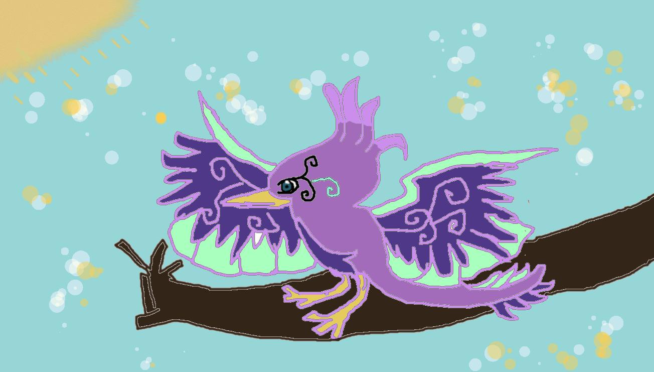 *^~The Mystical Bird~^* by Pinkie---Dash