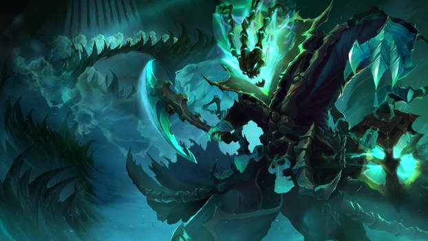 Thresh, the Chain Warden: Login Screen