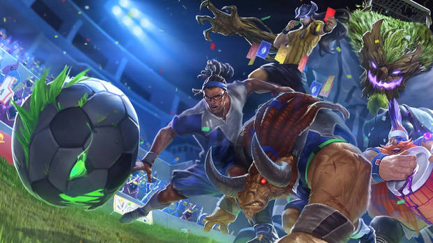 League of Futbol 2014 login screen