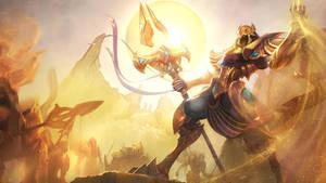 Azir, the Emperor of the Sands, Login Screen