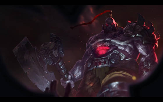 Sion, the Undead Juggernaut, Login Screen