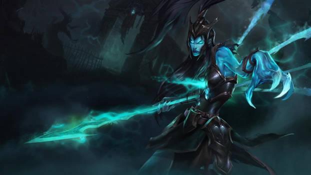 Kalista, the Spear of Vengeance Login screen