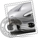 Super Car Stamps by deathmedic