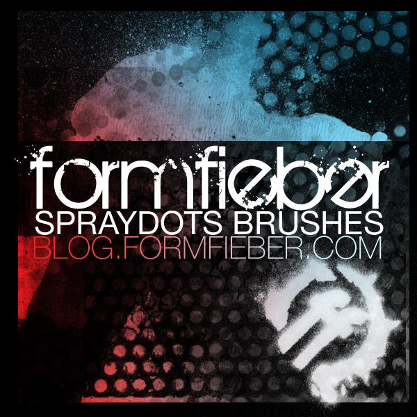 formfieber spraydots brushes by FormFieber