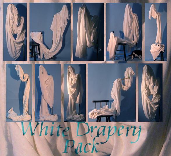 White Drapery Pack by lockstock