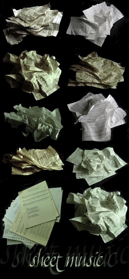 Sheet Music Pack