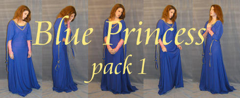 Blue Princess pack 1 by lockstock