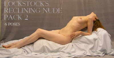 Reclining Nude Pack 2 by lockstock