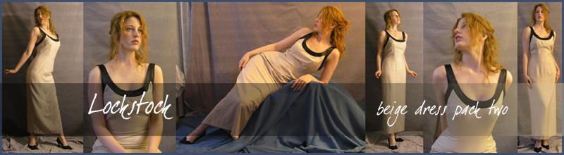Beige dress pack two by lockstock