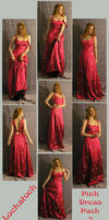 Pink Dress pack three