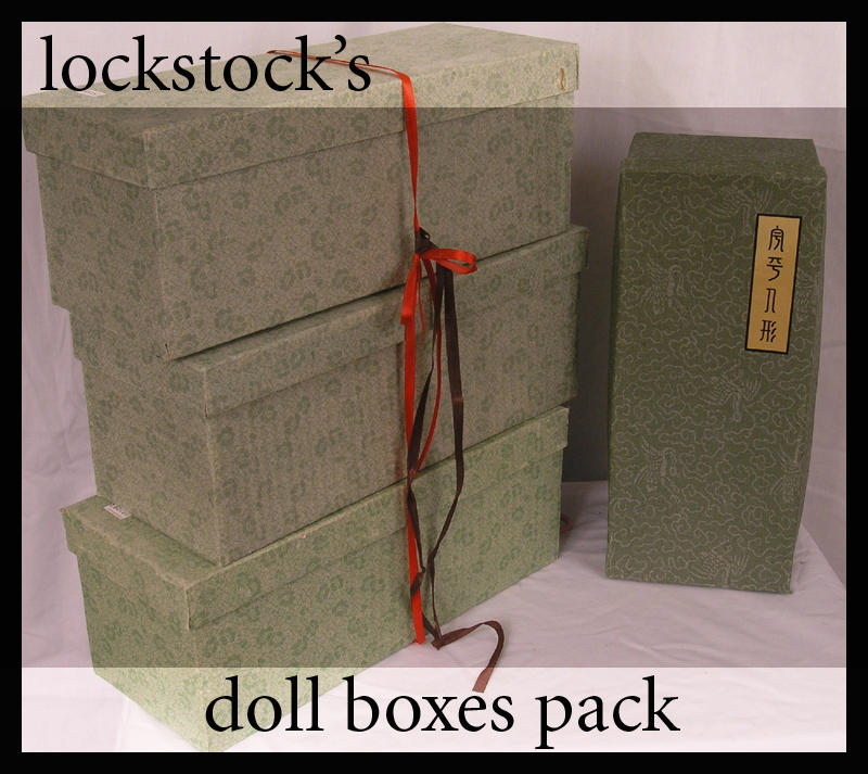 Doll box pack by lockstock