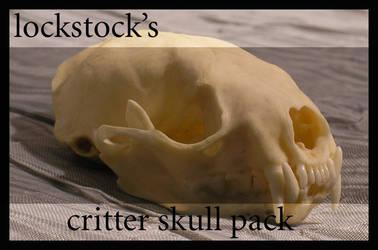 Critter Skull pack