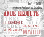 Vintage Parisian ad brushes by euphoric-acid