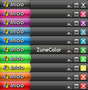 ZuneColor Visual Style