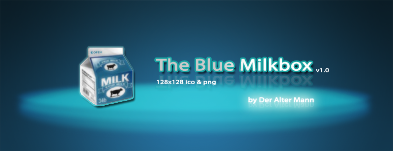 The Blue Milkbox by Der-Alter-Mann