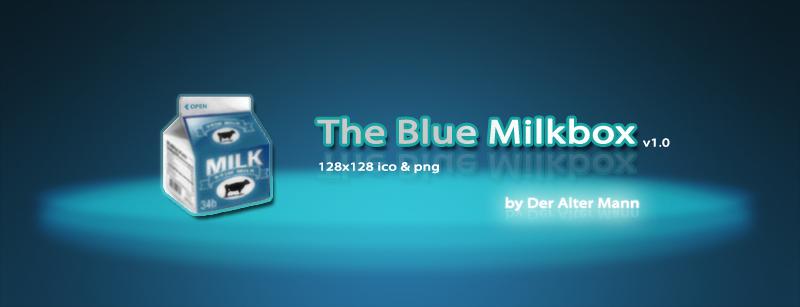 The Blue Milkbox by Der-Alter-Mann