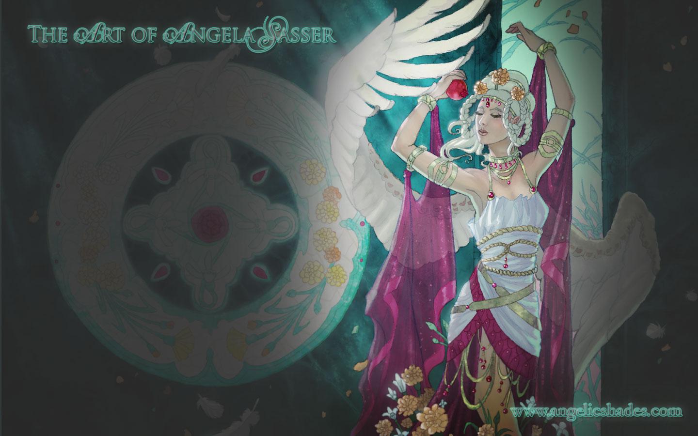 Angel of January Wallpaper