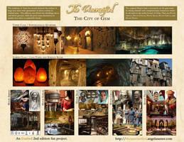 Visual Guide - The Uncrucified - The City of Gem by AngelaSasser