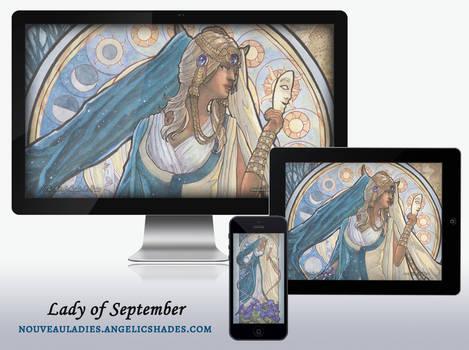 Wallpaper Pack - Lady of September