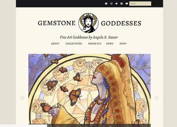 Gemstone Goddesses Website Redesign 2021