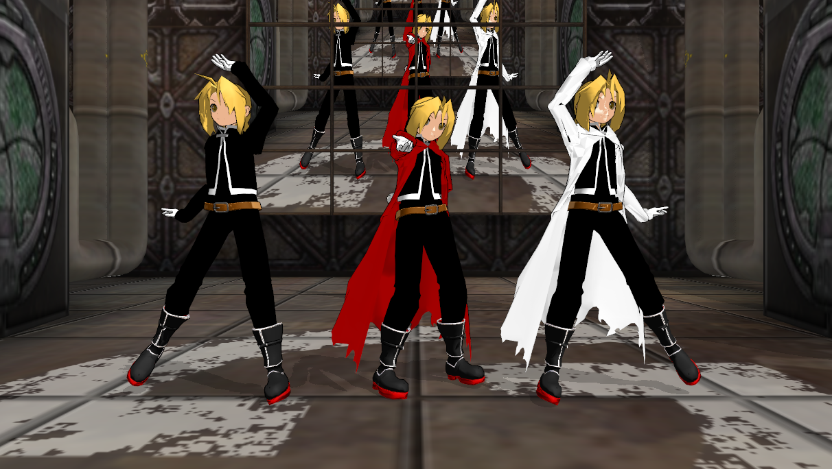 ... Shadoo's Edward Elric model DL by shadoouge