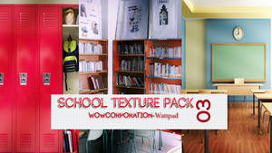 Pack School Texture 03 - Wow Corporation by WowCorp