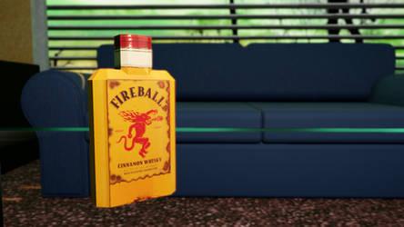 Fireball Whiskey by Pr0nb0tz