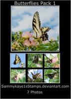 Butterflies Pack 1 by Sammykaye1sStamps