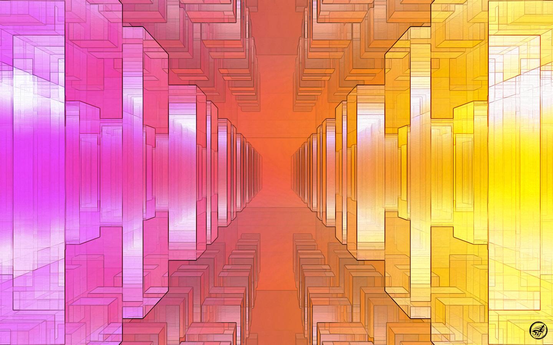 Pastel Cubism - WS by Ingostan