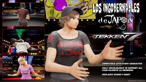 Tekken 7 Mod: Los Ingobernables de Japon T-Shirt