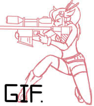GIF - Shooting Yoko