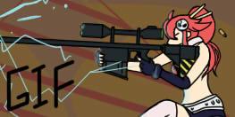 Gif - Shooting yoko (color and effects)
