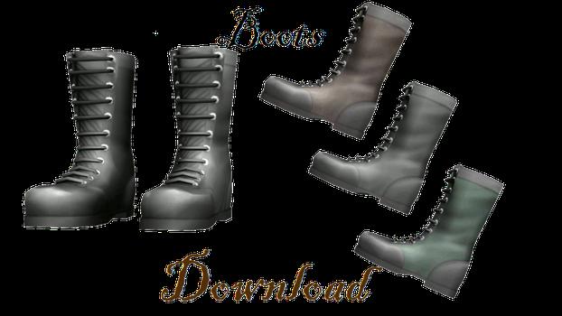[MMD] Boots by LoreneMMD
