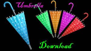 [MMD] Umbrella by LoreneMMD