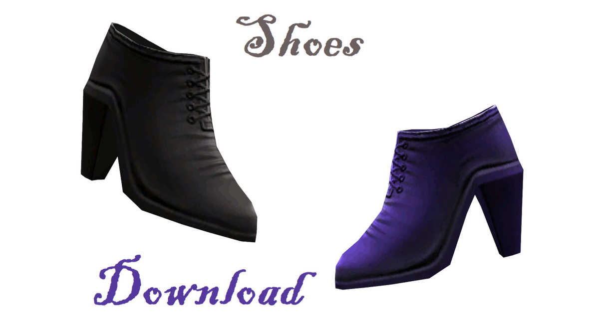 [MMD] Shoes by LoreneMMD