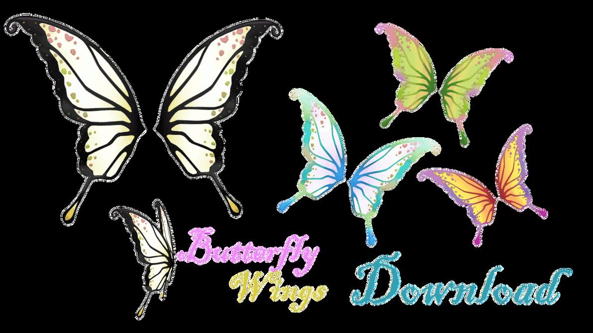 [MMD] Butterfly wings by LoreneMMD