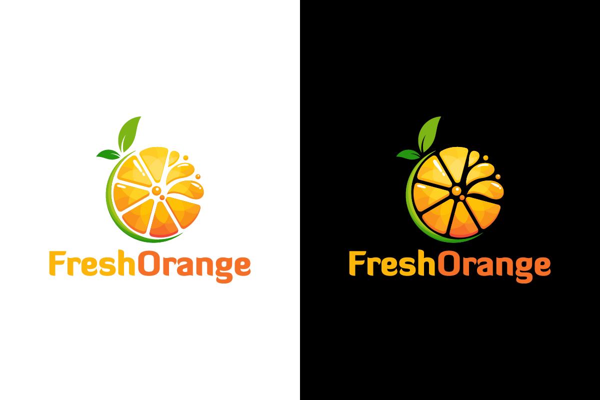fresh orange juice slice logo vector illustration by orange juice brands logos orange juice company logos
