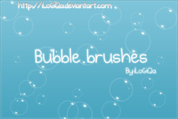 bubble brushes by iLoGiQa