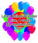 PS7 - 32 Latex Balloon Brushes