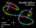 PS7 - Twinkle Effect Brushes