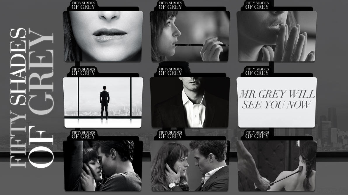 browsing icons on fifty shades of grey by estelkatrin