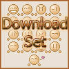 -:Emoticon Set:- by fl00fy